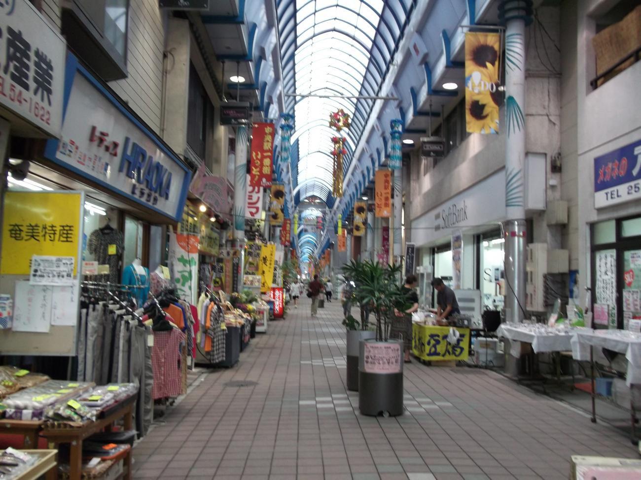 鹿児島アーケード街
